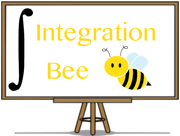 Integration Bee poster